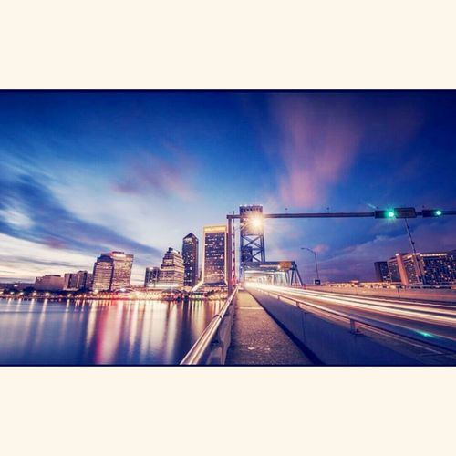 Cityscape Downtown Jacksonville,FL Sky And City hometown hero