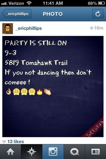 Who Going To Eric Party!!