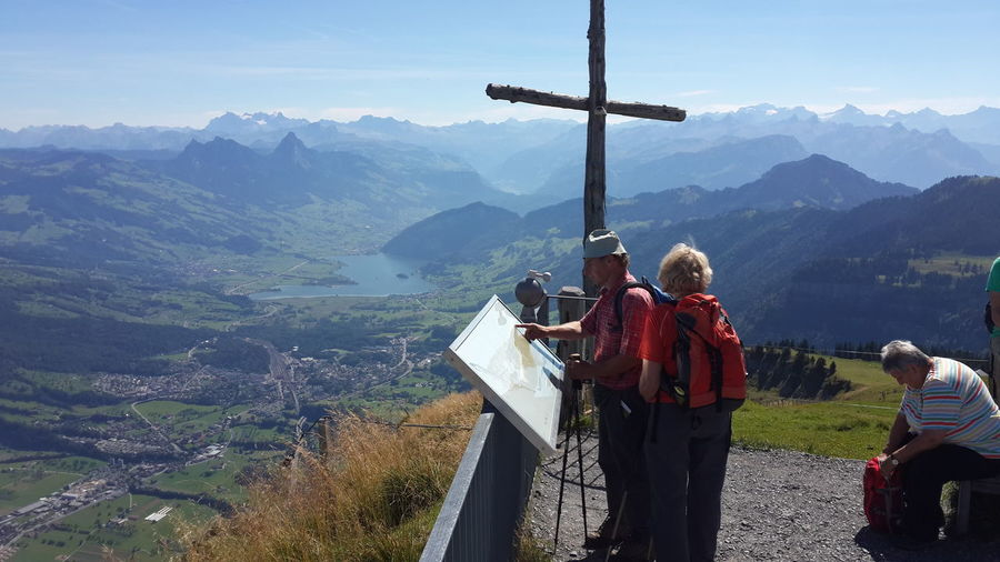 Mt.Rigi, Switzerland. Getting Inspired Peace And Love Photography Beautiful View Clouds And Sky Sky Enjoying Life Travel Traveling Mountains Lake View Color Photography Green Holiday Light And Shadow An Eye For Travel