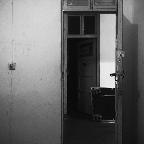 EyeEmNewHere Architecture Blackandwhite Closed Day Door Doorway Entrance Entry Indoors  No People Open Open Door Safety