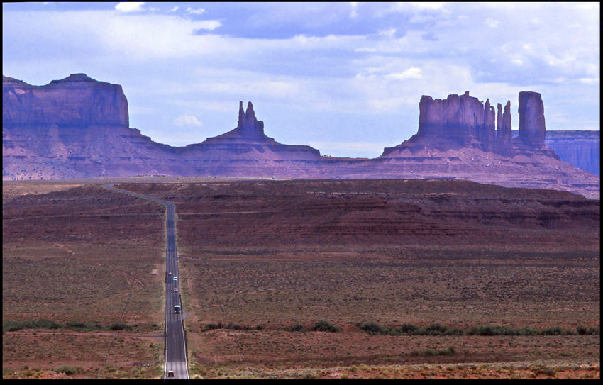 Mountain Landscape Sky Cloud - Sky Nature No People Scenics - Nature Rock Day Outdoors Beauty In Nature Tranquil Scene Horizon Rock Formation Travel Destinations Barren Arid Climate Climate Mountain Peak Monument Valley Arizona Utah Navajo Forest Gump