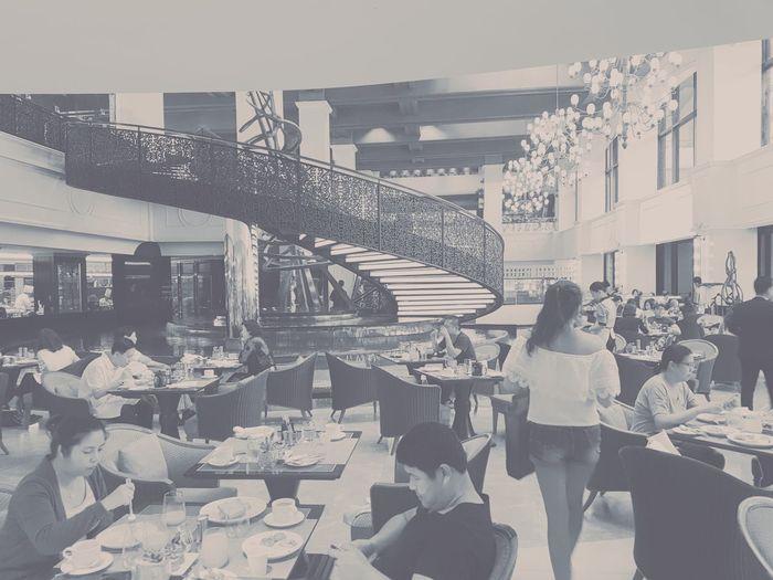 Sofitel Manila Spiral restaurant