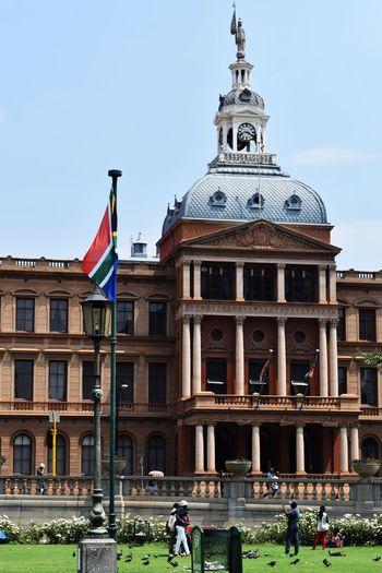 Pretoria, South Africa Architecture Flag Outdoors Travel Destinations South Africa Pretoria