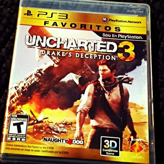 Uncharted3 Ps3 Gold