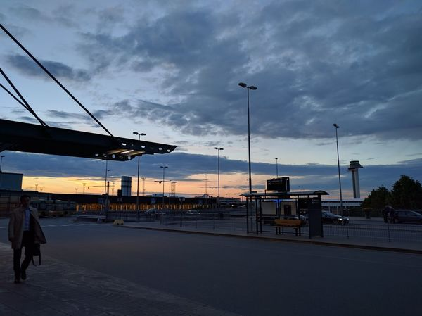 Airport Arlanda Cloud Cloudy Mode Of Transport Sky Sweden Travel