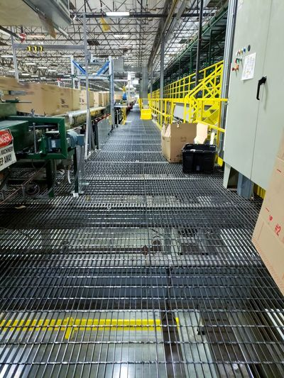 warehouse metal