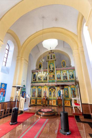 Interior of building