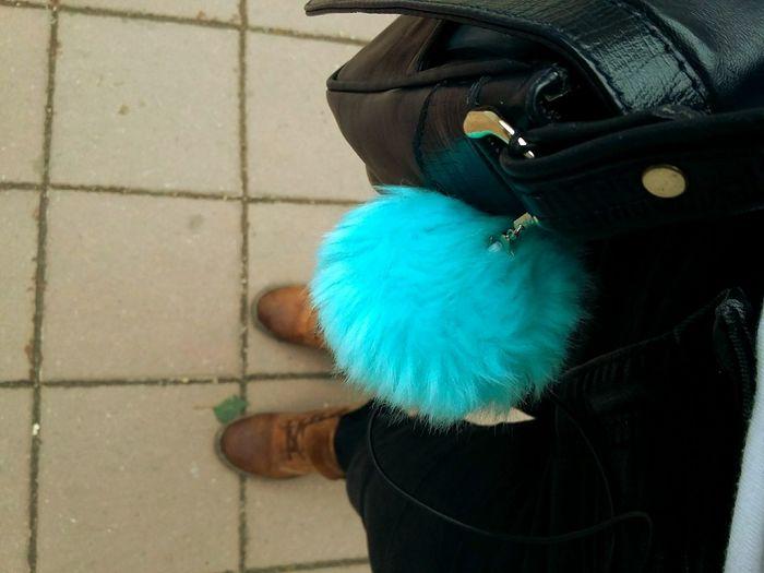 Blue Puff Autumn Autumn Shoes Bag