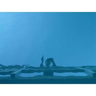 Reflection. Water Reflection Blue Selfie ?LakeEscoRadDayPotdNoFilterVscoCamFridayPeaceYo