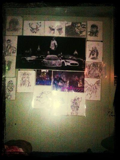 My wall of art