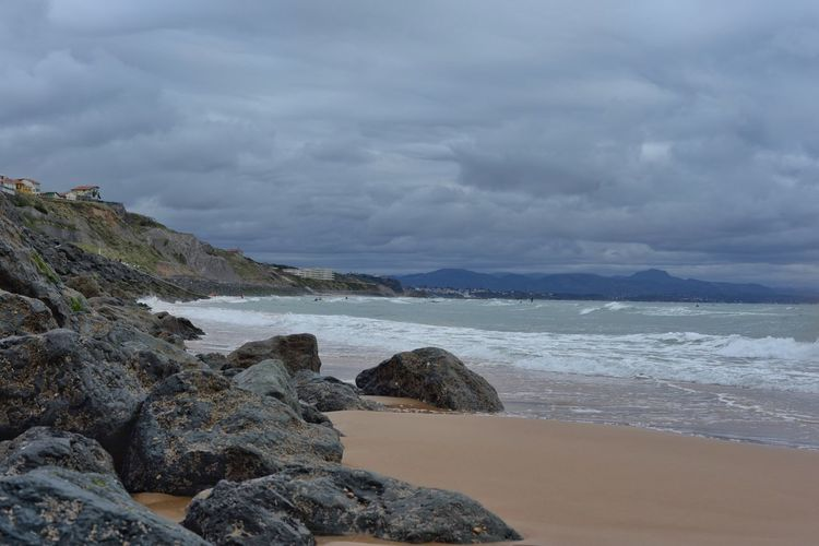 Biarritz Océan Atlantique Ocean The Changing City франция EyeEm Gallery EyeEm Best Shots Capture The Moment EyeEmBestPics I Love My City France EyeEm