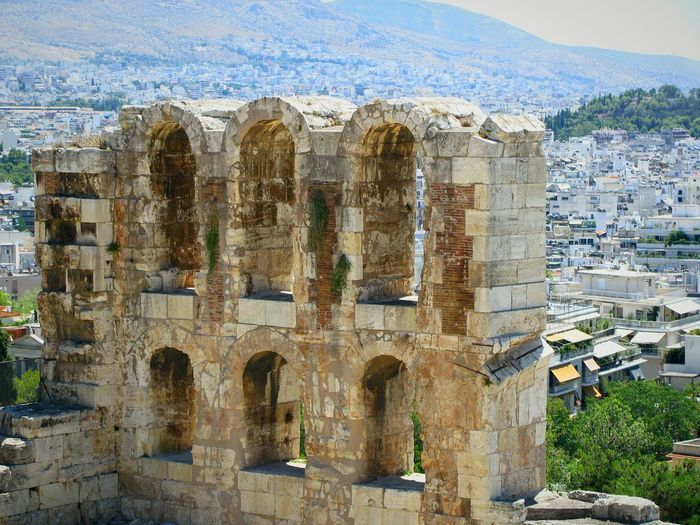 Irodis Atticos Theatre Athens Greece Ancient Monument City Architecture Ancient Ancient Architecture Ancient Civilization Theater Acropolis Acropolis, Athens Your Ticket To Europe Stories From The City
