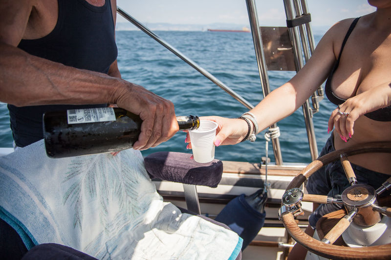 While photographing the regatta .... a Prosecco .. The Photojournalist - 2018 EyeEm Awards Blue Boat Canonphotography Champions Day Drinking EyeEm Best Shots EyeEm Nature Lover Italian Wine Italiangirl No Faces Orcworldstrieste2017 Popolari Prosecco Race Regatta Sail Sailing Sea Sealovers Ship Summer Water Wine Wine Not