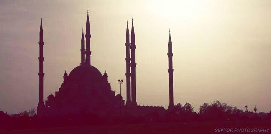 Adana Merkez Camii Mosque In Adana EyeEm Best Shots Sunset Landscape Gün Batımı Sektör Yapım EyeEm