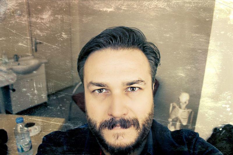 Selfie myself skeleton