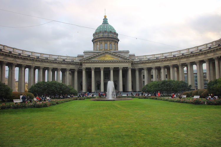 Kazan Cathedral in Saint Petersburg, Russia. Russia Saint Petersburg, Russia Saint-Petersburg Travel Architecture History Kazan Cathedral Russian Travel Spirituality Travel Destinations