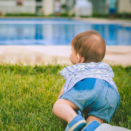 Grass Day Nature Babygirl Baby Istanbul Blue Outdoors Summer Sun Cute