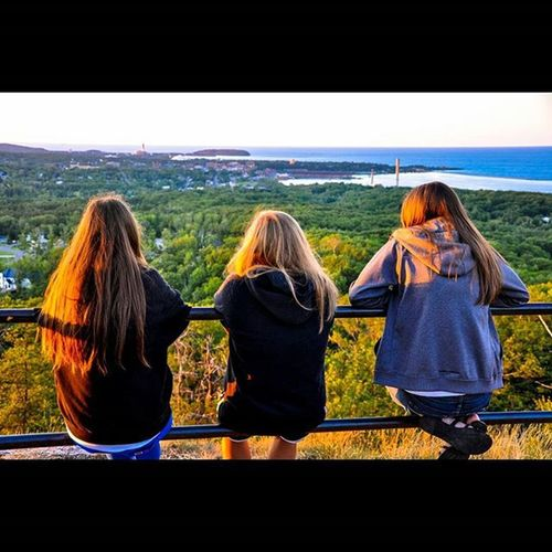 Happy Worldphotographyday ! Throwback to this view at sunset over Marquette, Michigan! Such a fun small town to visit! Wanderlust Travel Marquette Michigan Likeforlike Like4like Followforfollow Explore