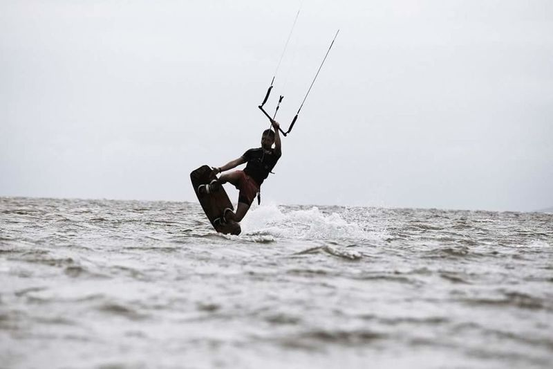 First Eyeem Photo Kitesurfing Darkslide Slingshot Mystic Incontrol Kite Wind Watersports Vladivostok