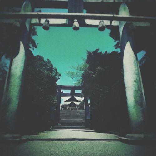 まるで異世界の様な神社の鳥居。The entrance of shrine.Looks like the entrance of Another world. Japan Shrine Of Japan 日常生活 Daily Life