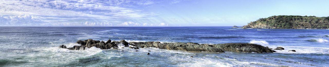 Seascape Landscape Landscape_Collection EyeEm Best Shots - Landscape Beach Rocks Port Macquarie Australia Panorama HDR