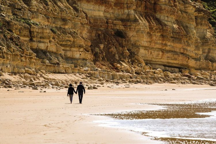 Walking Land Leisure Activity Nature Beauty In Nature Men Scenics - Nature Real People Outdoors People Two People