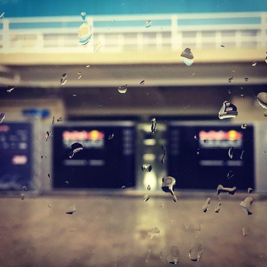 F1 Paddock Rain Raindrops Raindropsonglass RedBullRacing