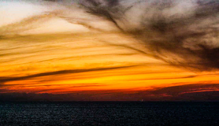 atardeceres Sunset Beach Dramatic Sky Orange Color Sky Horizon Over Water Landscape Cloud - Sky