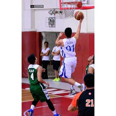 Ramos @opt0masprime ??? . . . Fmc FrMartinCup AGBvsNCBA Admu ateneo agb ateneogloryB hoop basketball themanansala