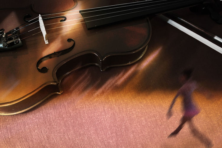 Dance On The Sound Of A Violin Arts Culture And Entertainment Ballarina Ballet Dancer Close-up Dance Dancer Manipulation Music Musical Instrument Musical Instrument String Photoshop Photoshop Edit Rhythmic Gymnastics Violin Music Backgrounds Music Background Theme The Week On EyeEm Chemistart Violin Paint The Town Yellow