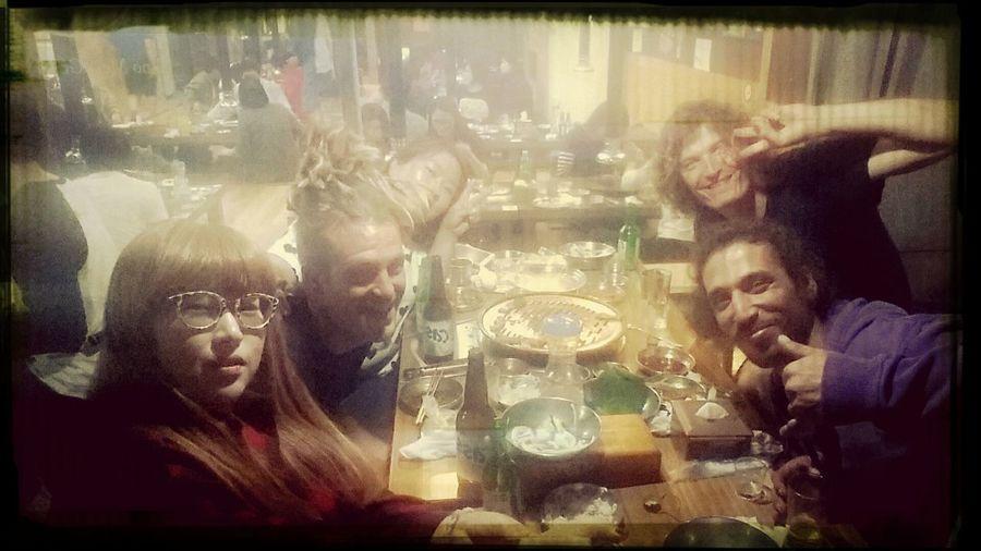 Khaled, John, Florian 프랑스의 멋진 친구들 함께했던 소중한 시간들 영원히 잊지못할꺼야^^