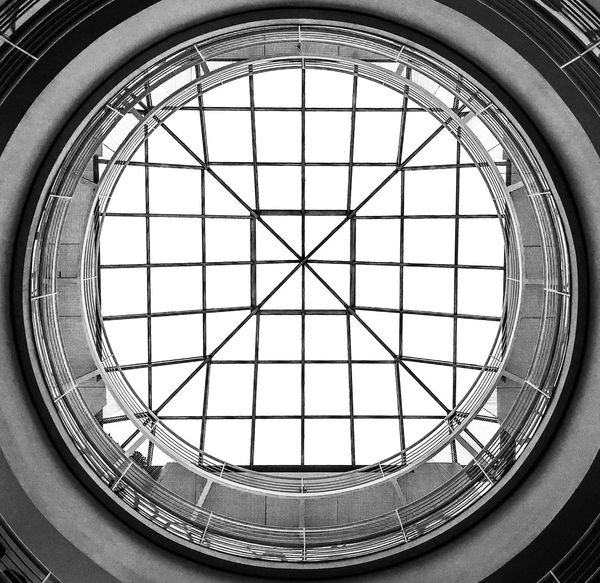 Geometric Photography Window Indoors  Skylight Architecture Built Structure Day No People Low Angle View Architectural Design