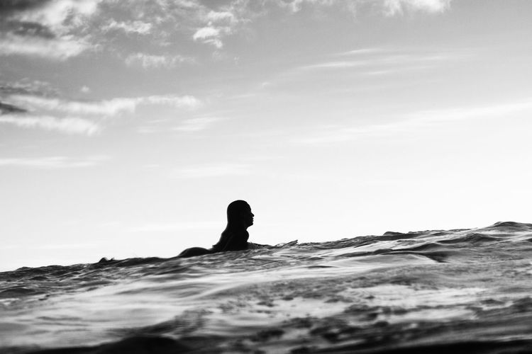 Beach Beauty In Nature Black & White Black And White Black And White Photography Black&white Blackandwhite Blackandwhite Photography Blancoynegro Canary Islands Lifestyles Nature Ocean One Person Outdoors Scenics Sea Shillouette Sky Sunset Surf Surfing Water Water Photography Wave