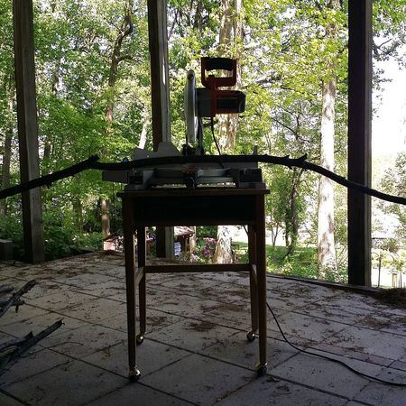 No People Day No Edits No Filters Working Compositon Mitre Saw Tools Woodcutting Yard Work After The Chainsaw Daniel Petruzzi Homeowner