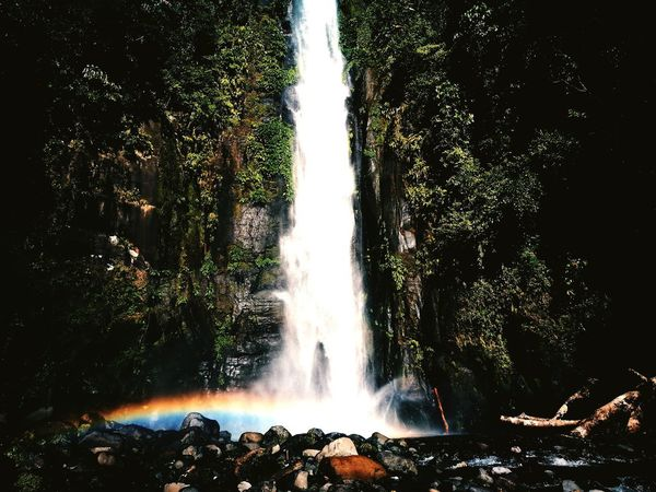 Don't go chasing waterfalls ❤ Water Waterfalls In Philippines Beauty In Nature Outdoors Splashing Rainbowsprinkles Rainbow Motion NatureLong Exposure No People Plant Spraying Tree Day Blurred Motion Environment Rock - Object Fountain Power In Nature
