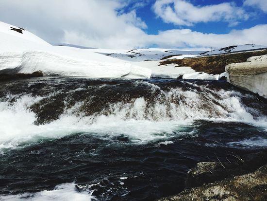 Summer ☀ Winter❄ im Juni ein zu warmer Winter. 😜 Norway Norwegen