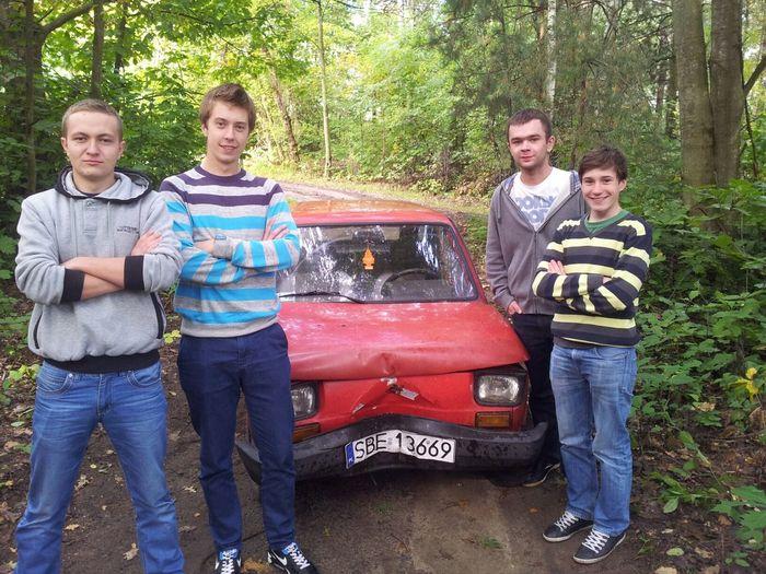 Fiat 126p Crash :D
