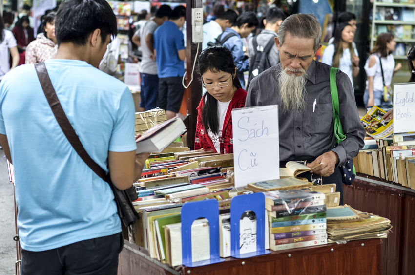 Book for people Adult Book Street In Saigon Botany Childhood Day Find Boo Girl Life Is A Beach Old Books Outdoors People Person Read Reading Standing Store Streetphotography