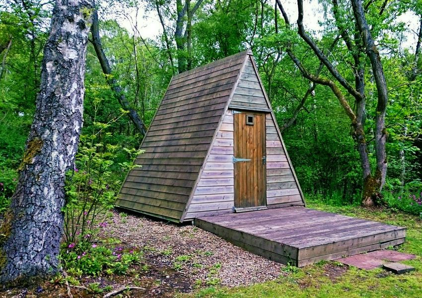 Log Cabin Cabin In The Woods The Great Outdoors - 2016 EyeEm Awards Camping Out Beauty In Nature Nature Nature_collection Trees Hideaway Cosy Place Outdoor Adventures