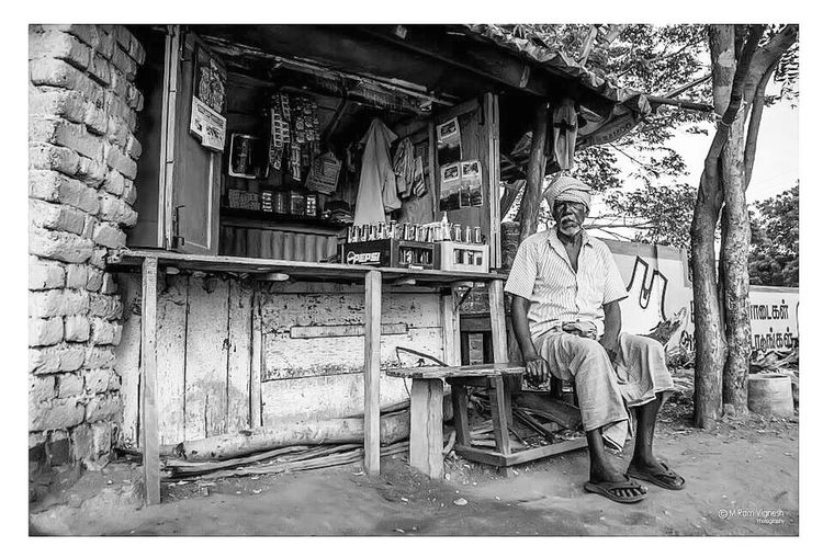 Blackandwhite Village Village Life Blackandwhite Photography Travel Travel Photography Traveling Life India Indiapictures Indian One Man Only Tamilculture First Eyeem Photo Indian Culture  Tamilnadu Potrait Location Photography Locationshoot
