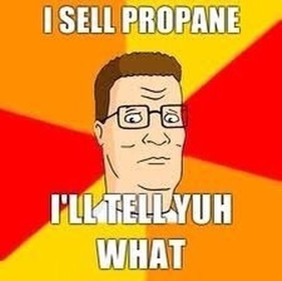 Hank Hill at his best