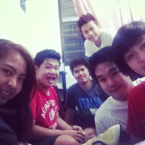 Im so gonna miss late night hangout with these guys. :))))) 🙅😂😪😤😌💋💚 Rehabfor3mos BMN