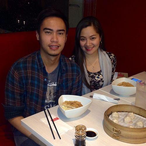 Quite Sunday Dinner with @bamtamayo. Thanks for dinner akoh. ??