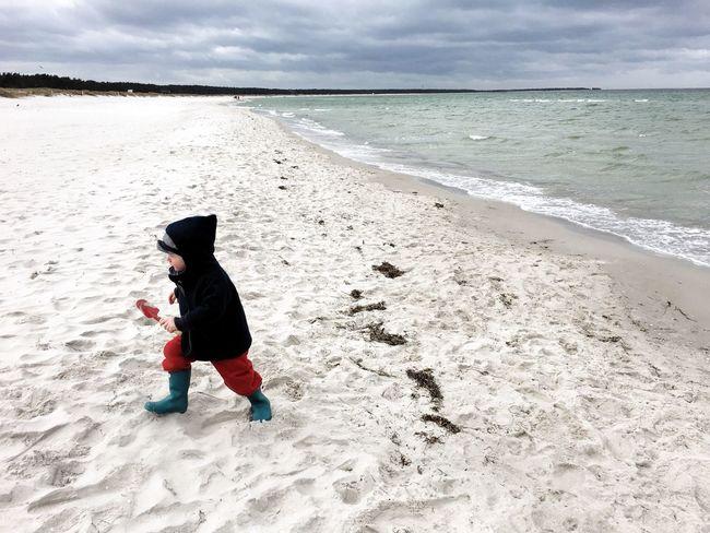 Weststrand Seaside Meer Prerow Urlaub