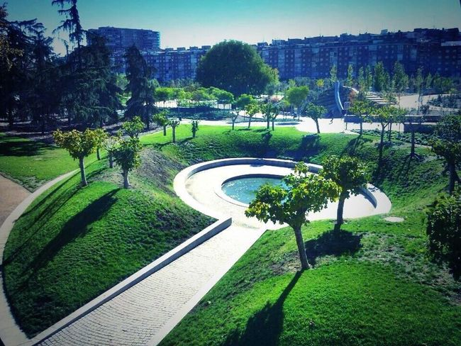 Parque Madrid Rìo Madrid Park In the Nature Me Around The World Relaxing España Fitness November!