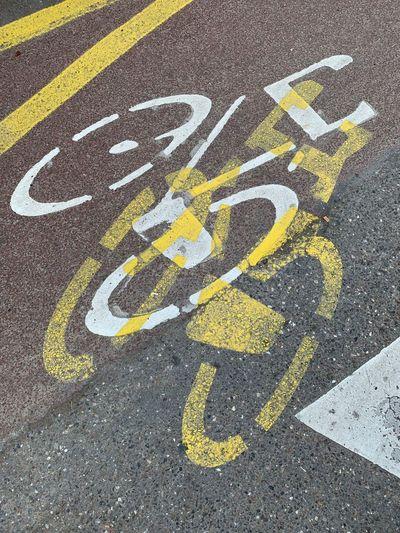 Yellow bike or
