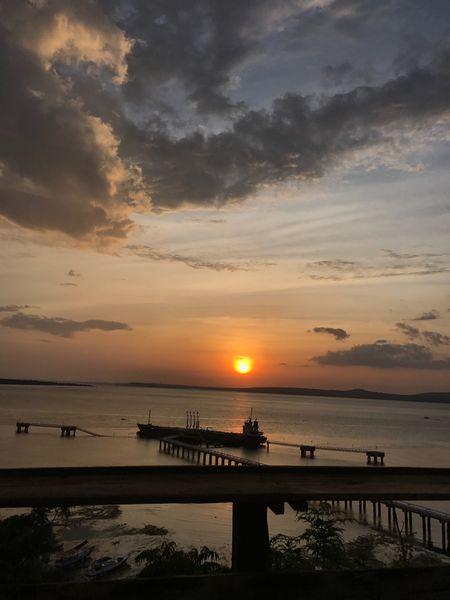 Sunset Nusatenggaratimur INDONESIA