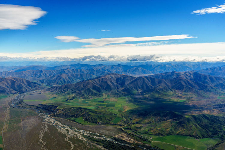 Aerial View Beauty In Nature Cloud - Sky Day Dramatic Landscape Environment Geology Idyllic Landscape Mountain Mountain Range Mountain Ridge Nature No People Non-urban Scene Outdoors Physical Geography Remote Scenics - Nature Sky Tranquil Scene Tranquility Travel Destinations