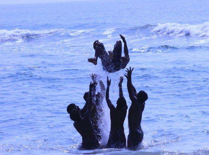 Blue Wave Bluefun Beachgames Ocean