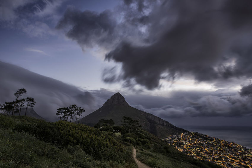 Lions Head sunset Cape Town Cape Town Beauty Cape Town From Above Cape Town In The Distance Cape Town, South Africa Cape Town, South Africa, Africa Beauty In Nature Cloud - Sky Day Landscape Mountain Nature No People Outdoors Peak Scenics Sky Tranquil Scene Tranquility